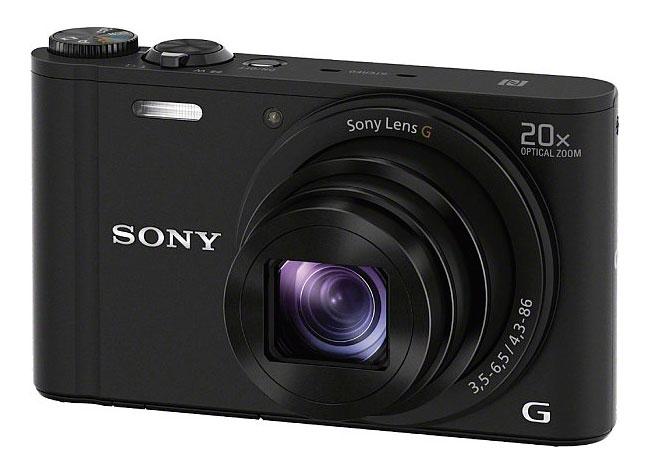"Фотокамера Sony Cyber-shot DSC-WX350 black 18.2Mpix Zoom20x 3"" 720p SDHC MS Pro Duo Super HAD CCD IS el DSCWX350B.RU3"
