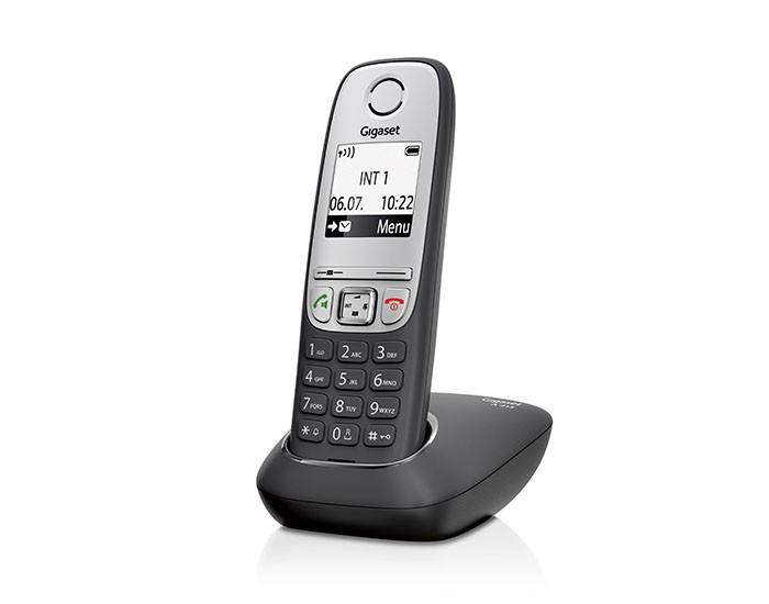 Телефон GIGASET Dect A415H черный для A415 A415H