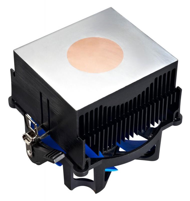 Кулер для процессора DEEPCOOL BETA 40 Soc-FM2/FM1/AM3+/AM3/AM2+/AM2 3pin 25dB Al+Cu 95W 348g скоба BETA40