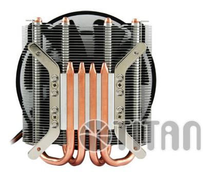 Кулер для процессора Titan TTC-NK96TZ/NPW Soc-1150/1155/1156 4pin 15-29dB Al+Cu 130W 530g винты Z-AXIS TTC-NK96TZ/NPW