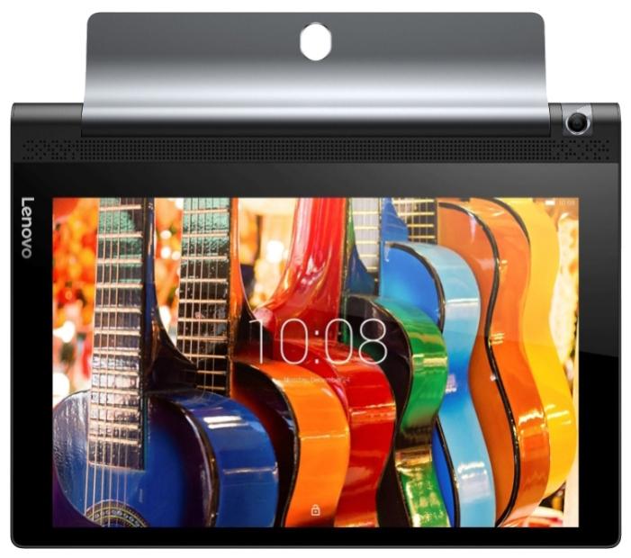 "Планшет Lenovo Yoga Tablet 3 YT3-X50 MSM8909 4C/RAM2Gb/ROM16Gb 10.1"" IPS 1280x800/3G/4G/WiFi/BT/8Mpix/GPS/Android 5.1/черный/Touch/microSD 128Gb/minUSB/8400mAh/18hr ZA0K0021RU"