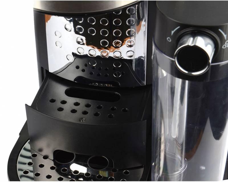 Кофейное оборудование POLARIS Кофеварка эспрессо PCM 1519AE 1350Вт серебристый/черный PCM 1519AE