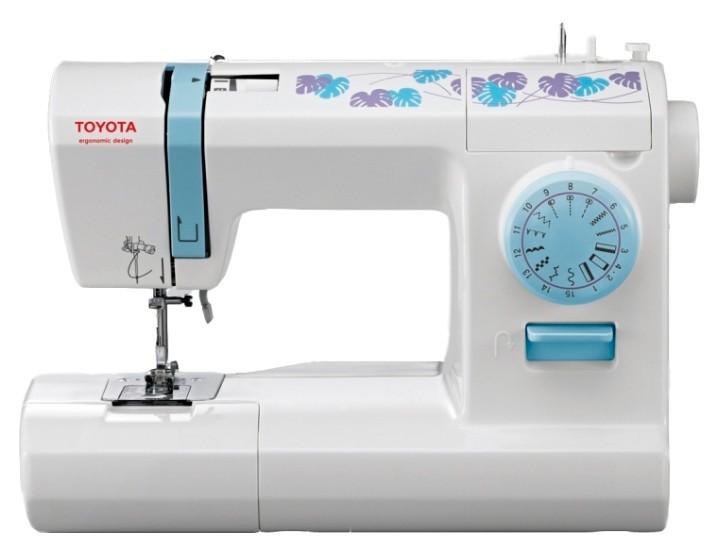 Швейная машина TOYOTA ECO15CB белый ECO 15CB