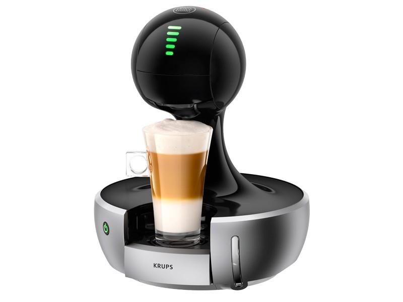 Кофейное оборудование KRUPS Кофемашина Dolce Gusto KP350B10 Drop 1500Вт черный/серебристый 8000035461