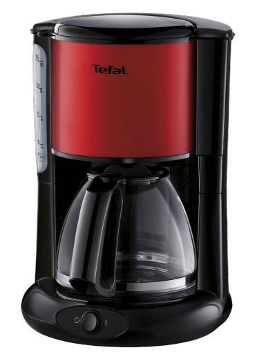 Кофейное оборудование TEFAL Кофеварка капельная CM361E38 1000Вт красный 7211002513