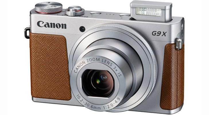 "Canon Фотоаппарат PowerShot G9 X Mark II серебристый/коричневый 20.9Mpix Zoom3x 3"" 1080p SDXC CMOS IS opt 5minF TouLCD 6fr/s RAW 60fr/s HDMI/WiFi/NB-13L 1718C002"