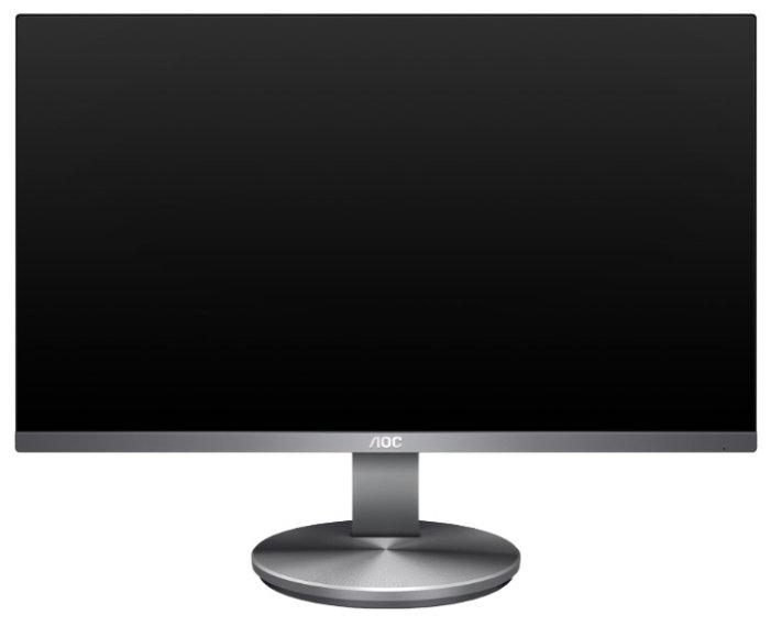 """Монитор AOC 23.8"""" Professional I2490VXQ/BT темно-серый IPS LED 4ms 16:9 HDMI M/M матовая 250cd 178гр/178гр 1920x1080 D-Sub DisplayPort FHD"""